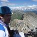 Am Gipfel...im Hintergrund der Südostgrat