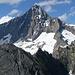 Das wunderschöne Bietschhorn vom Gipfel aus gesehen
