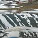 """""""Eisberge"""" und Spiegelung bei Tarfala, Nordschweden"""