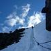 Ein Hauch von Alpinismus im Abstieg vom Kebnekaise