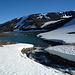 Was für ein traumhafter Abend am Fusse der schwedischen Gletscher