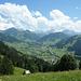 Blick Richtung Gstaad