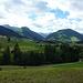 Blick zurück gegen Gstaad