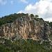 Wenige Schritte hinter dem Sattel Es Pouet ist zum ersten Mal ist der Gipfel sichtbar.