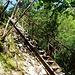 """Eisentreppe in der blauen """"Himmel"""""""