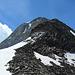 Blick aus dem [pass8683 Leckipass] auf die vorgelagerte schuttige Schulter des [peak6134 Gross Leckihorn]-Nordgrates.
