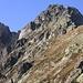 """Ruchälplistock mit dem """"abgespaltenen"""" Gipfel (Gipfelkreuz ist rechts drauf)"""