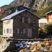 Sunniggrätli Hütte im Morgenlicht