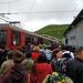 wie auf dem Bahnhof in Bern