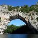 Morgenstimmung an der Pont d`Arc