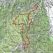 Route Valle di Lodrino - Pronzono - Alpe di Vishged (Viva l'Italia!)