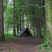 in solchen Schutzhütten fanden die Waldarbeiter früher Unterschlupf