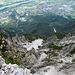 Tiefblick auf Vaduz und Schaan