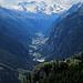 Mattertal mit Breithorn