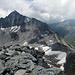 Der Gesamte Grat von Piz Blas über Pass Nalps zum Piz Rondadura: das Ziel der nächsten 2 Stunden.
