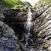kleiner Wasserfall eines Seitenbaches des Otterebaches