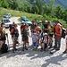Gruppo completo alla partenza