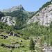 L'Alpe della Crosa appena disceso visto da Calnegia