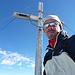 Am Gipfelkreuz Clariden