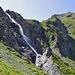 Wasserfall oberhalb Wysse Bode