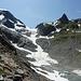 Links Vorder Tierberg, mitte Steilimigletscher, rechts Brunnenstock, Giglistock verdeckt