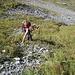 weglose Steilgrasquerung zur Abkürzung einer bogigen Wegführung