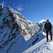 Il Naso 4270 m mit Südgrat zum Liskamm