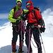 <br /><br />Am Gipfel der Vincentpyramide 4215 m