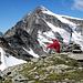 Salahorn mit Güferhorn im Hintergrund