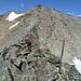 P.3100 amSüdgrat des Spechhorn.  Hier stieg ich links die Flanke hinab.