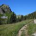 Hüttenweg zur Lobhornhütte