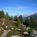 Höhenweg mit Berner Alpen