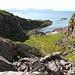 Blick zurück auf den kleinen Fjord