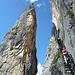 Ganz schön fotogen, der Pinut-Klettersteig