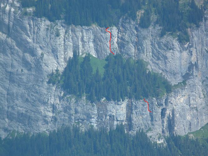 Klettersteig Pinut : Das pinut wieslein mit dem historischen klettersteig fotos hikr