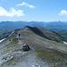 Aufstieg über der Weite Graubündens