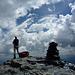 Gipfelfreuden mittendrin im Spiel der Wolken
