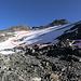 il primo tratto di ghiacciaio