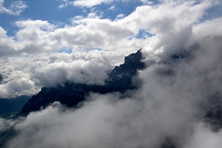 Wolkenfenster zum Höchtor