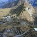 Blick zurück ins Niggelkar, der Aufstieg erfolgte ziemlich mittig