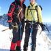 Auf der Zumsteinspitze 4563m