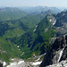 Panorama Ost:  Mitte-Links: die Allgäuer Alpen / Rechts: Lechtaler Alpen