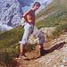 """Jung-[u alpstein] 1976. Mit dem damaligen """"Kampfgewicht"""" ginge es heute leichter auf den Berg ;-)"""