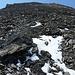 steiler und überaus rutschiger Abstieg zur Fuorcla Pischa