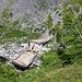 Die zerstörte Brücke unterhalb La Cave-d'Er de Lens
