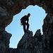Eingepasst ins Ela-Loch