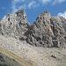 Die Punta Casana. Die Besteigung führt von hinten auf den Gipfel (I).