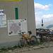 Rifugio Cassana, wo sich die Biker treffen. Eine sehr lohnende Stärkungs- und Übernachtungsmöglichkeit. Aussen nix - innen fix.