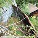Bunker datant de la dernière guerre. La partie rouillée est le camouflage de celui-ci.