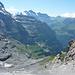 Abstieg zur Station Eigergletscher